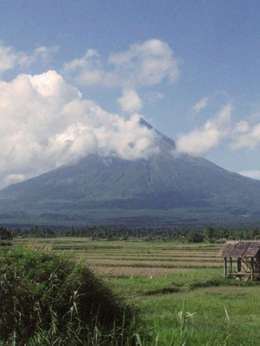 """There are many legends about Mount Mayon and all of them are based on a tragic romance. They all agree too that the name """"Mayon"""" came from """"daragang magayon"""" or beautiful maiden."""