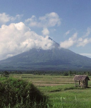 "There are many legends about Mount Mayon and all of them are based on a tragic romance. They all agree too that the name ""Mayon"" came from ""daragang magayon"" or beautiful maiden."