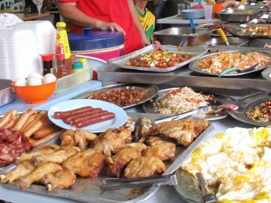 Chinatown food court, Kuala Lumpur