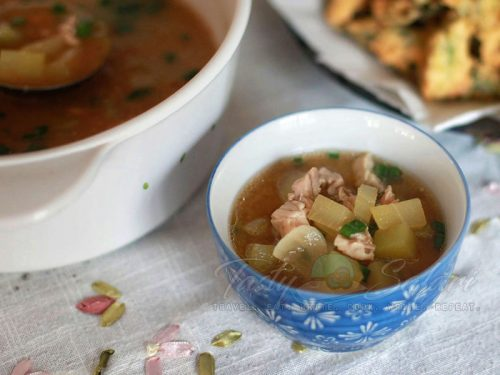 Chicken Miso Soup Recipe