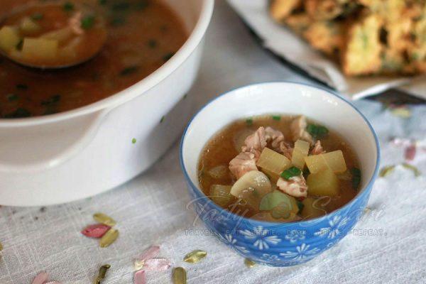 Chicken Miso Soup Recipe