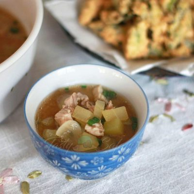 How to Cook Chicken Miso Soup