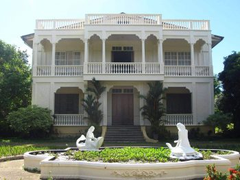 "Peque Gallaga's ""Oro, Plata, Mata"" was partially shot in the Gaston Mansion"