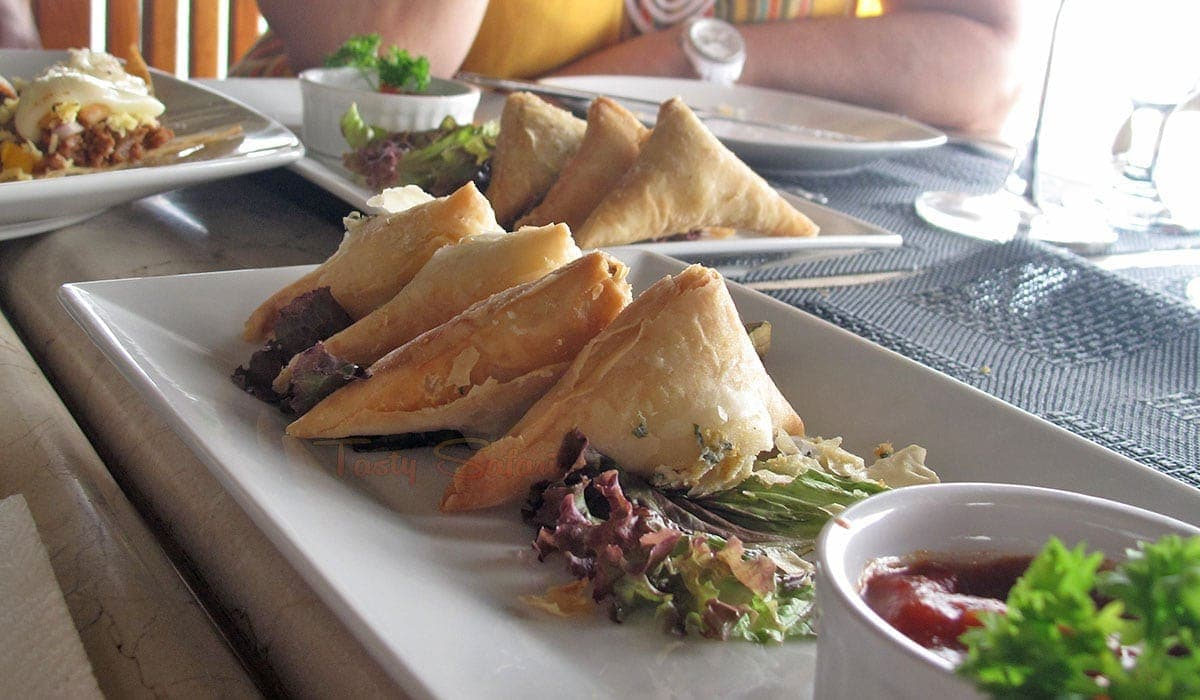Spanakopita at Nami Resort, Boracay