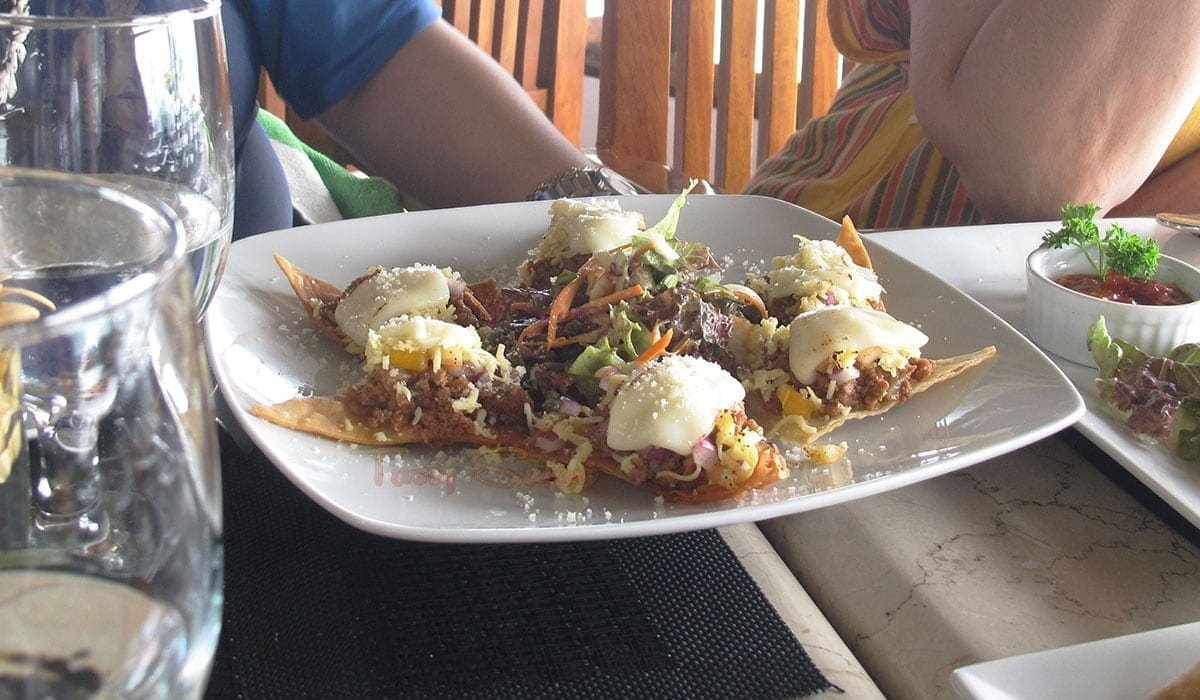 Tacos at Nami Resort, Boracay