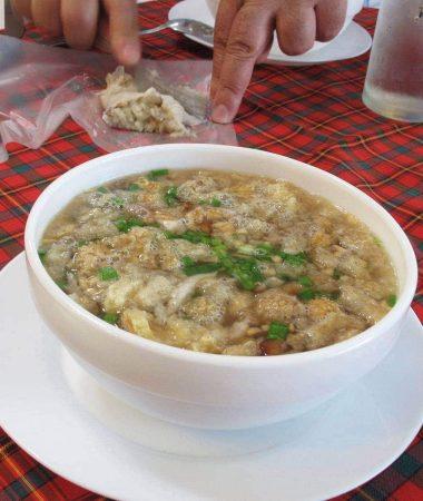 Batchon (batchoy with lechon), Pendy's, Bacolod City