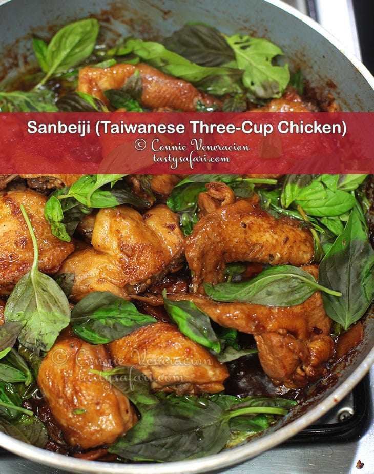 Sanbeiji (Taiwanese Three-Cup Chicken) Recipe For Home Cooking