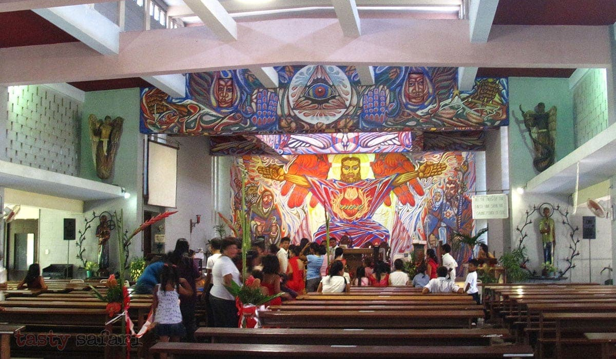 """Solving the Puzzle of Alfonso Ossorio and """"The Angry Christ"""" Mural"""