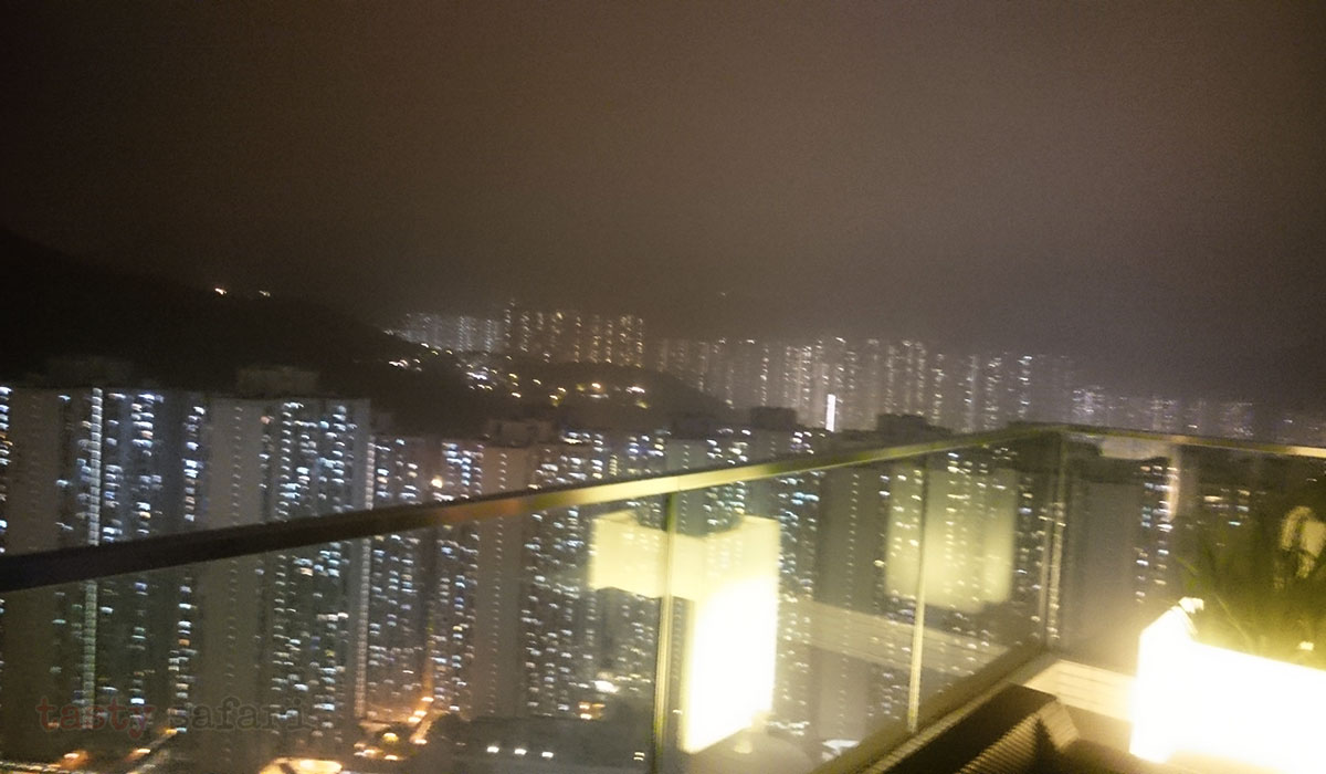 Cielo Steakhouse & Bar, 47th floor, Crowne Plaza Hotel, Kowloon