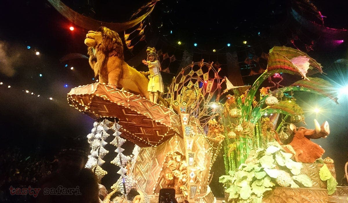 Festival of the Lion King, Hong Kong Disneyland
