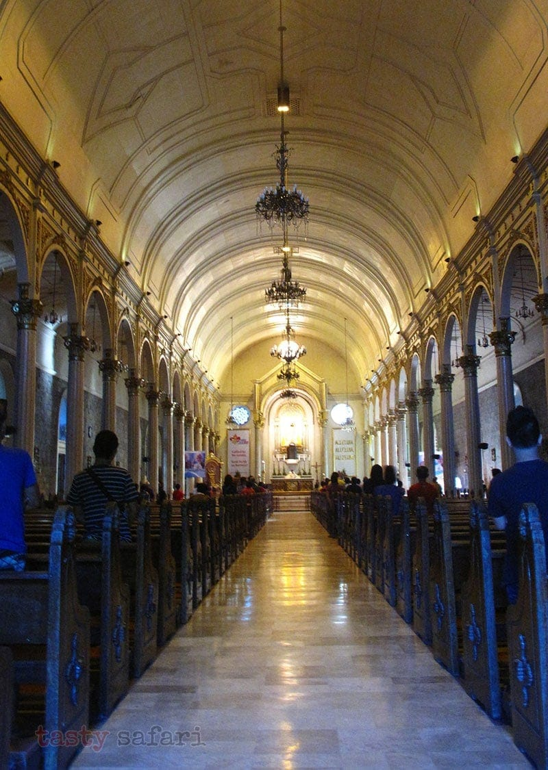 Interior of the San Sebastian Cathedral, Bacolod City