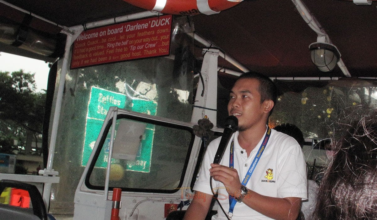 Chris, a fellow Filipino, was our Duck Tour guide