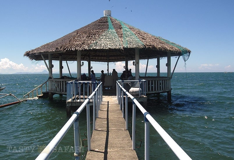 A wharf in a mangrove in Cadiz, Negros Occidental