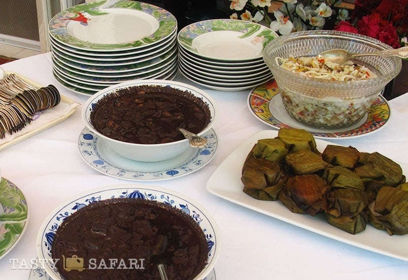 Dinuguan, puto Manapla and the dreamy home cooked ensalada at the hacienda, Cadiz City
