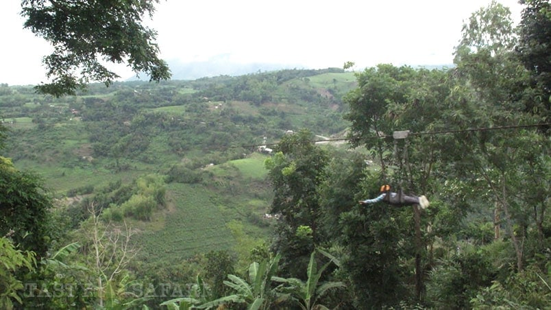 Everest Zipline in Don Salvador Benedicto, a two hour drive from Bacolod