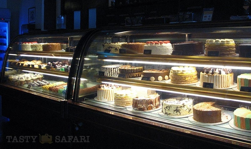 Cakes and pastries at Felicia's, Bacolod City