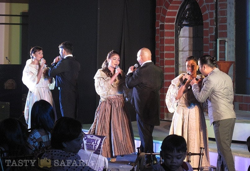 A stage show at L'Fisher, Bacolod City