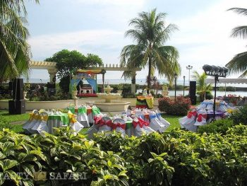 Party set-up, Palmas del Mar, Bacolod City