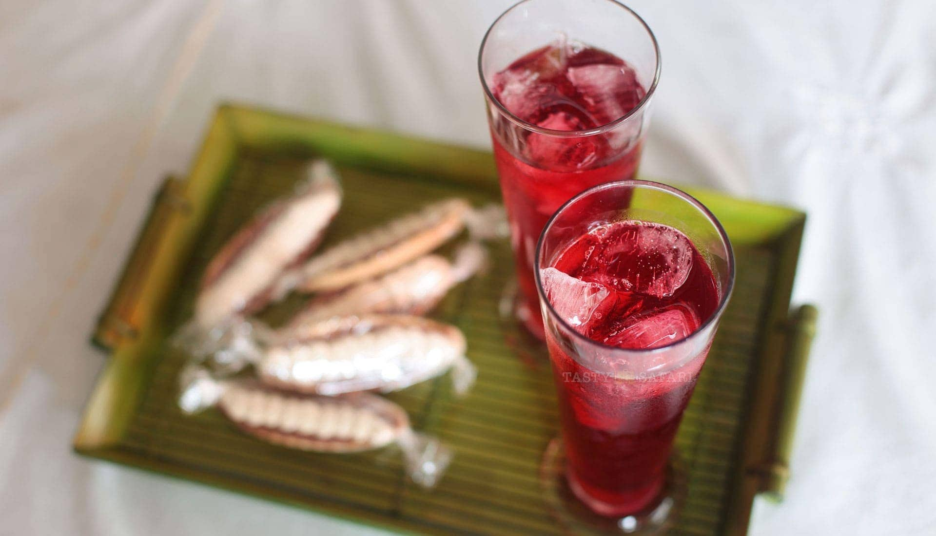 Hibiscus (Roselle) juice, inspired by the Negros Museum Cafe