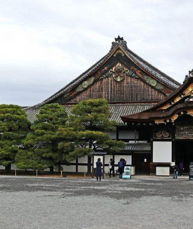 Ninomaru Palace, Nijo Castle. Kyoto, Japan