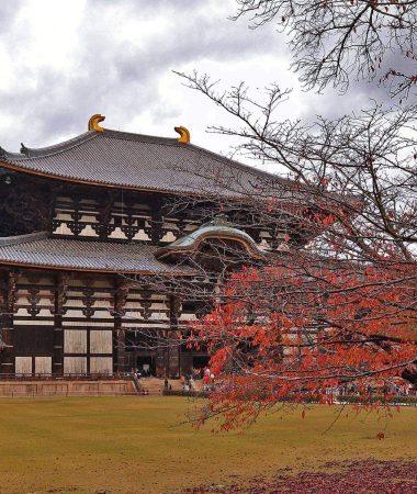 The Great Buddha Hall at the Tōdai-ji Temple Complex in Nara