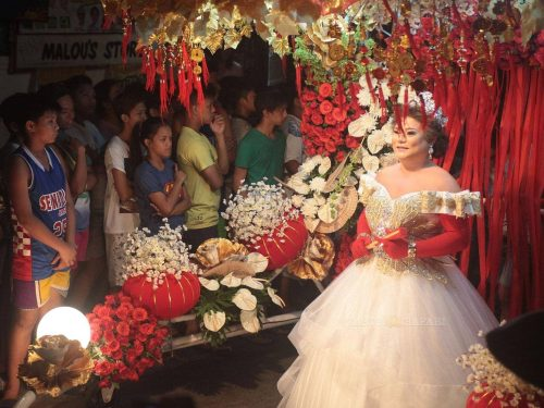 Reyna Emperatriz In Marikina, the 2015 Gay Santacruzan