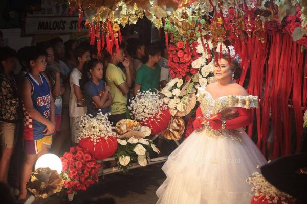 Reyna Emperatriz In Marikina, the 2015 Gay Santacruzan
