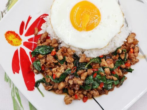 Easy Thai Basil Chicken (Pad Krapow Gai)