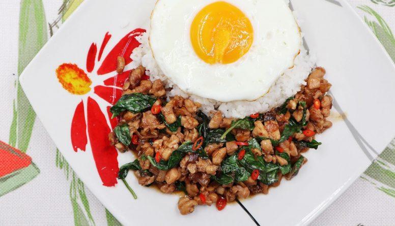 Easy Thai Basil Chicken (Pad Krapow Gai)