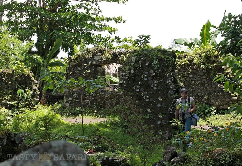 Cagsawa Ruins in Albay: second floor dormitories of the seminary
