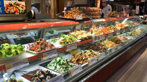 Dizzying array of food. Food Court, Takashimaya