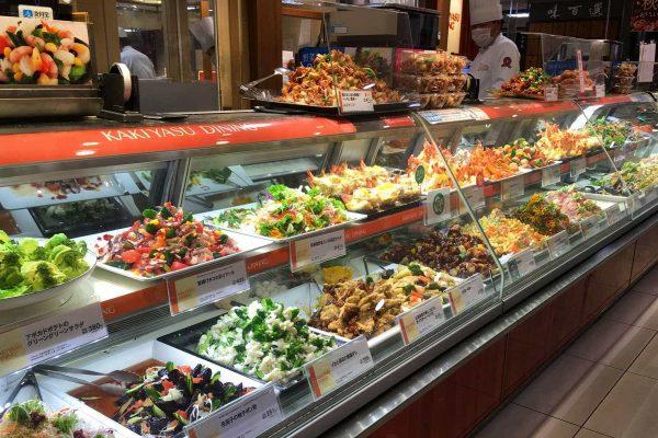 Dizzying array of food. Food Court, Takashimaya
