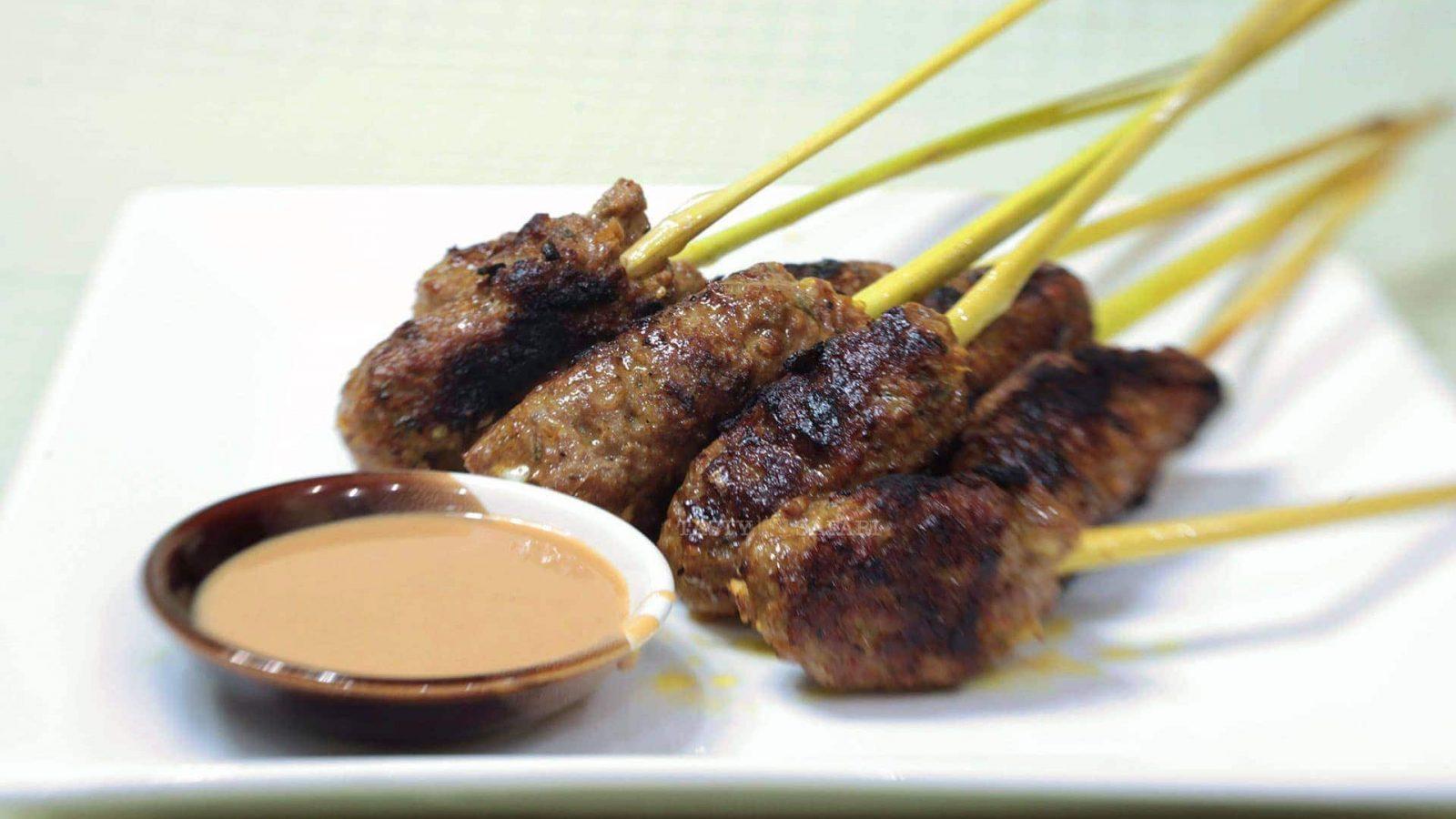 Grilled Pork in Lemongrass Skewers in 4 Easy Steps