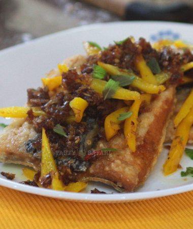 Thai Fried Fish With Spicy Tamarind Sauce (Pla Rad Prig)