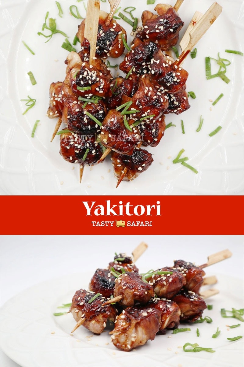 Easy recipe for yakitori with tare sauce
