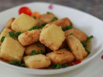 Agedashi tofu recipe for home cooking