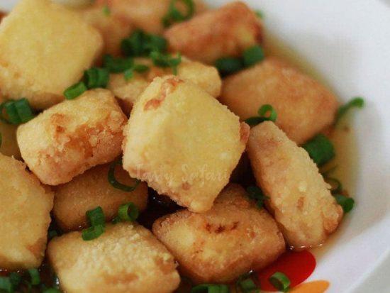 Agedashi tofu recipe