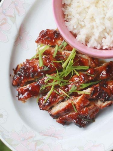 Recipe for Chicken Teriyaki With Easy Homemade Teriyaki Sauce