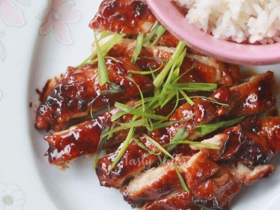 Recipe for Chicken Teriyaki With Easy Homemade Teriyaki Sauce