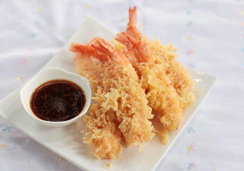 How to cook Ebi (shrimp) tempura with tensuyu sauce