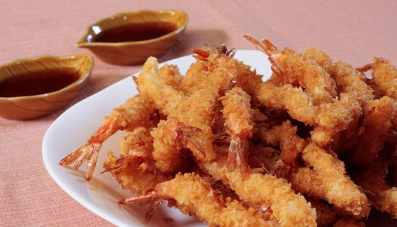 Ebi Furai (Japanese Panko-coated Deep-fried Shrimp)