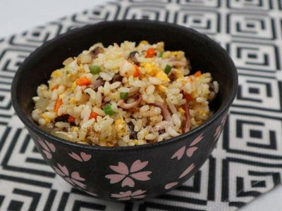 How to Cook Shrimp and Squid Fried Rice