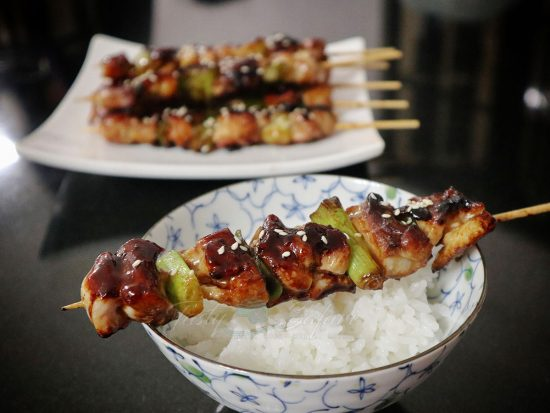 Easy yakitori (with tare sauce) for home cooking
