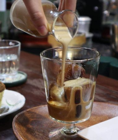 Coffee class at The Yellow Chair, Saigon