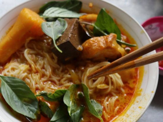 Chicken Curry Pho