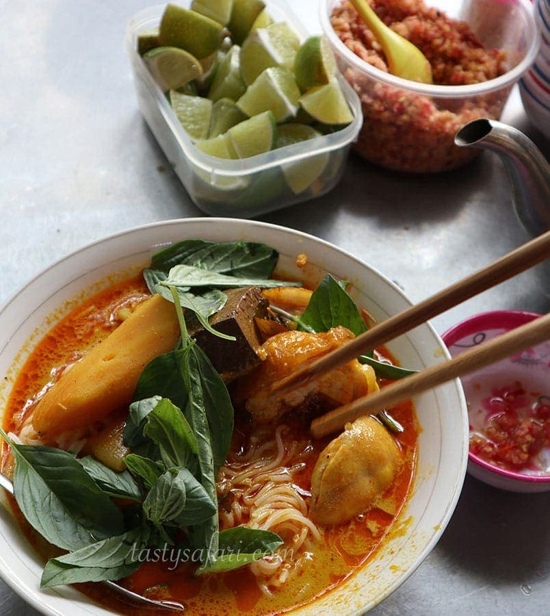 Chicken Curry Pho in Ho Chi Minh City
