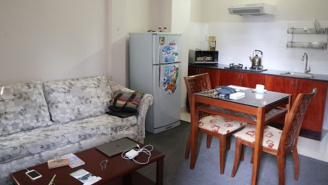 Living room, Green View Serviced Apartments, Saigon