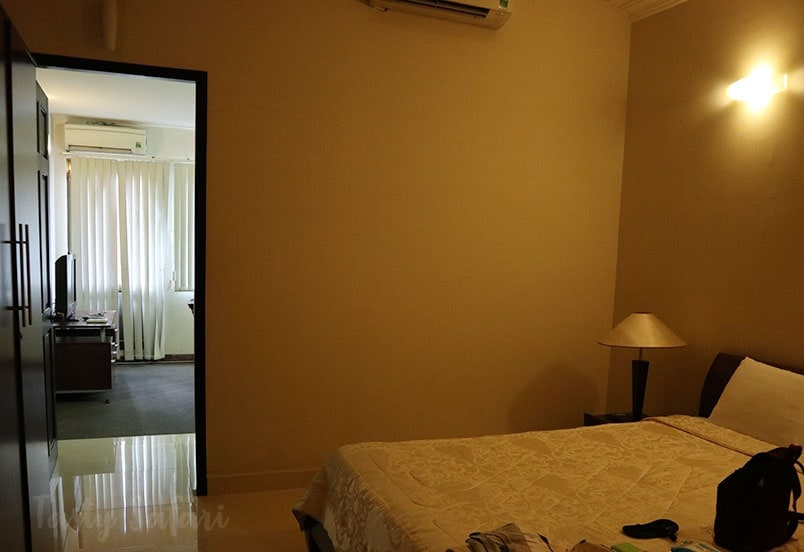 Bedroom, Green View Serviced Apartments, Saigon