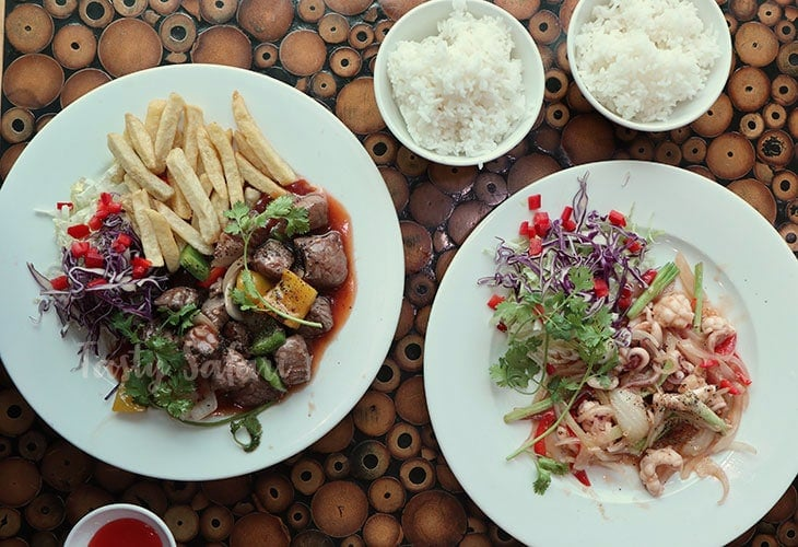 Lunch in Saigon