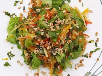 Vietnamese-style Papaya and Mango Salad Recipe